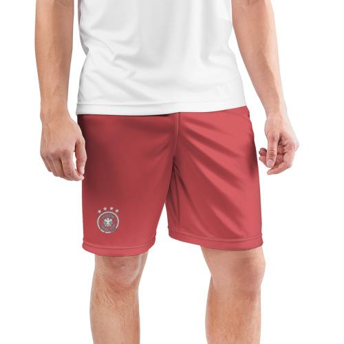 Мужские шорты 3D спортивные  Фото 03, «Germany away WC 2018»