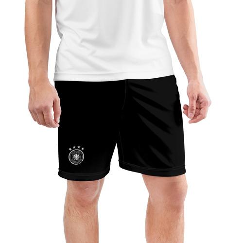 Мужские шорты 3D спортивные  Фото 03, Germany WC 2018