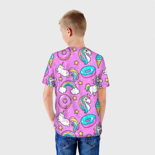 Детская футболка 3D  Фото 02, Котики и Единороги