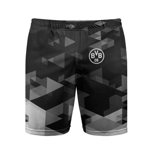 Мужские шорты 3D спортивные  Фото 01, Borussia Geometry Sport