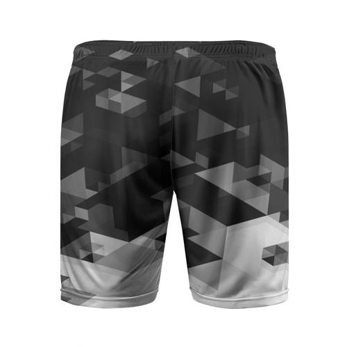 Мужские шорты 3D спортивные  Фото 02, Real Madrid Geometry Sport