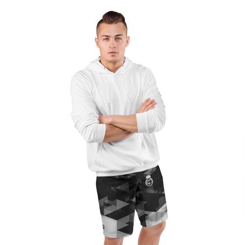 Мужские шорты 3D спортивные  Фото 05, Real Madrid Geometry Sport