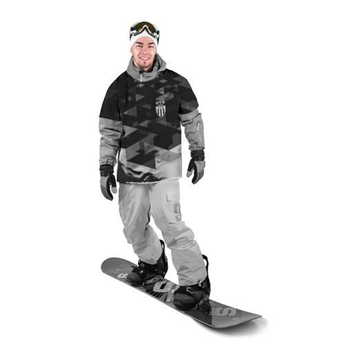 Накидка на куртку 3D  Фото 03, Monaco Geometry Sport