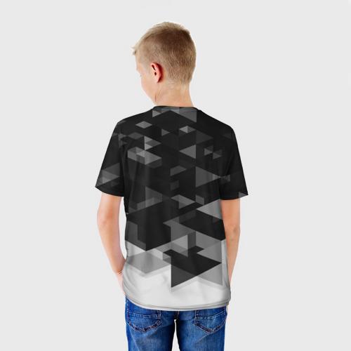 Детская футболка 3D  Фото 02, Monaco Geometry Sport