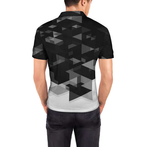 Мужская рубашка поло 3D  Фото 04, Juventus Geometry Sport