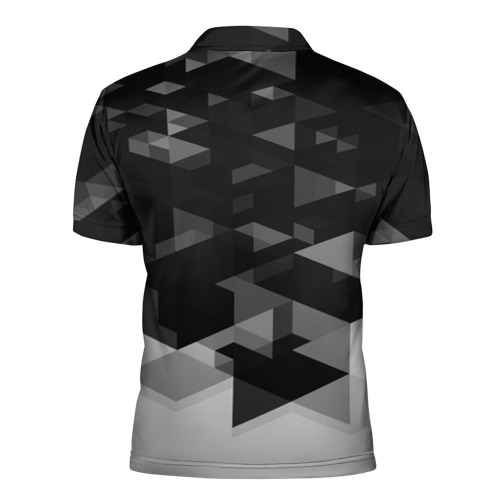 Мужская рубашка поло 3D  Фото 02, Juventus Geometry Sport