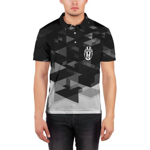 Мужская рубашка поло 3D  Фото 03, Juventus Geometry Sport