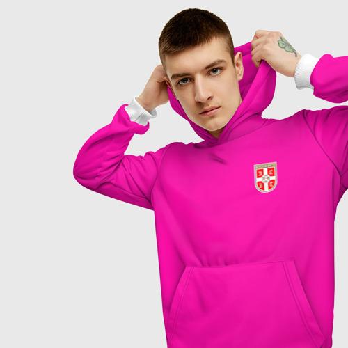 Мужская толстовка 3D  Фото 01, Сборная Сербии WC 2018