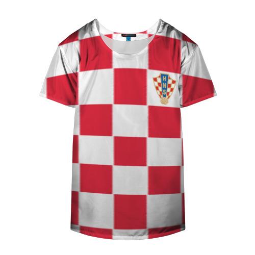 Накидка на куртку 3D  Фото 04, Хорватия домашняя форма 2018