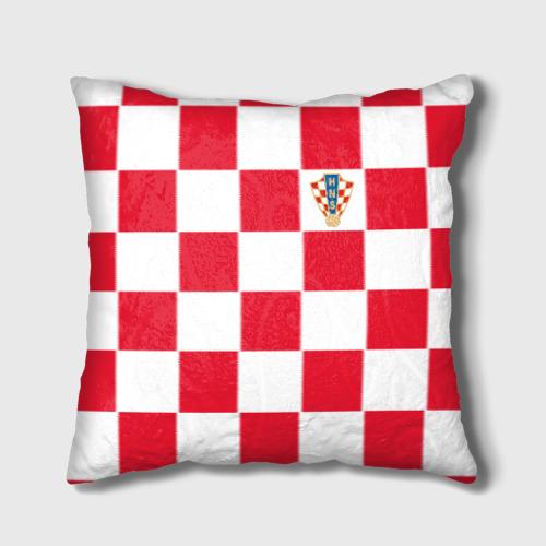 Подушка 3D Хорватия домашняя форма 2018 Фото 01