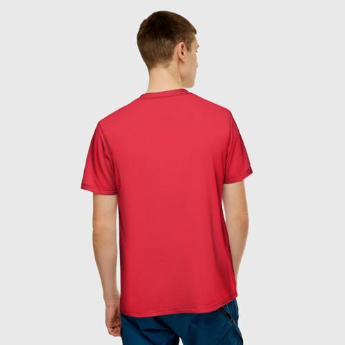 Мужская футболка 3D  Фото 02, Хорватия домашняя форма 2018
