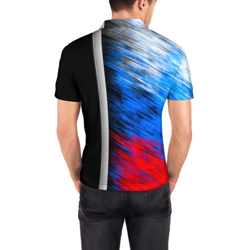 Мужская рубашка поло 3D  Фото 04, Муай Тай