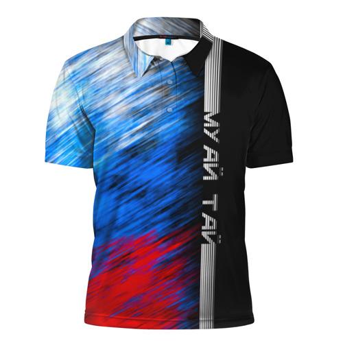 Мужская рубашка поло 3D  Фото 01, Муай Тай