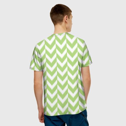 Мужская футболка 3D  Фото 02, Домашняя форма сборной Нигерии