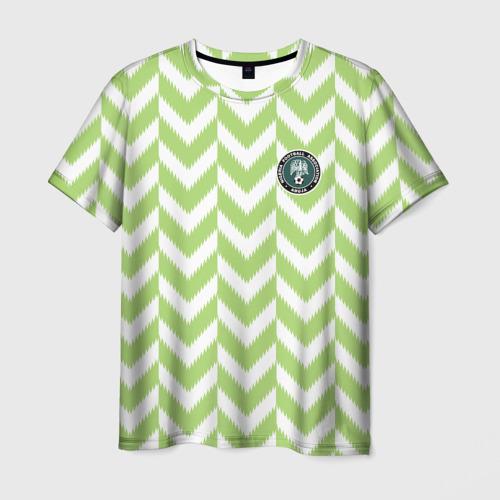 Мужская футболка 3D  Фото 03, Домашняя форма сборной Нигерии