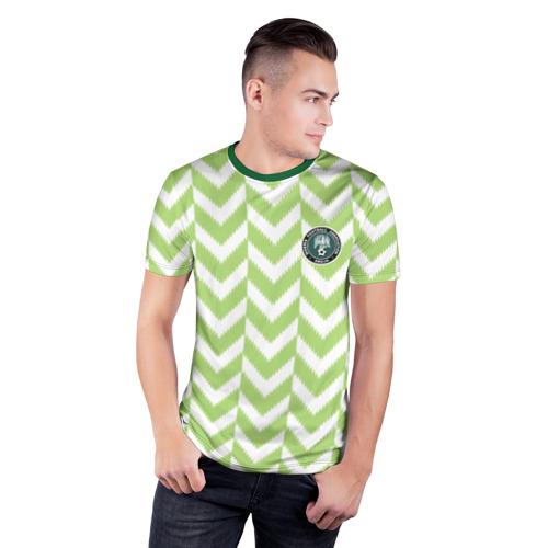 Мужская футболка 3D спортивная  Фото 03, Домашняя форма сборной Нигерии