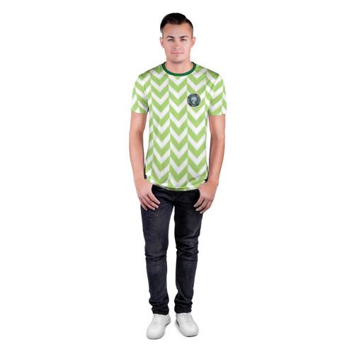 Мужская футболка 3D спортивная  Фото 04, Домашняя форма сборной Нигерии