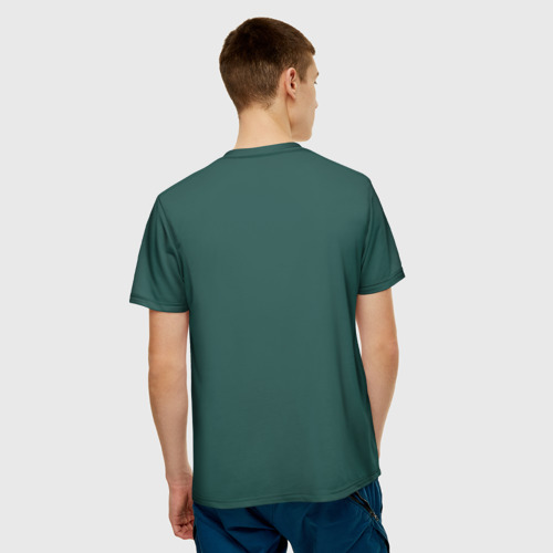 Мужская футболка 3D  Фото 02, Гостевая форма Нигерии