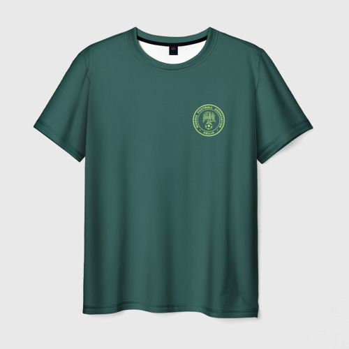 Мужская футболка 3D  Фото 01, Гостевая форма Нигерии