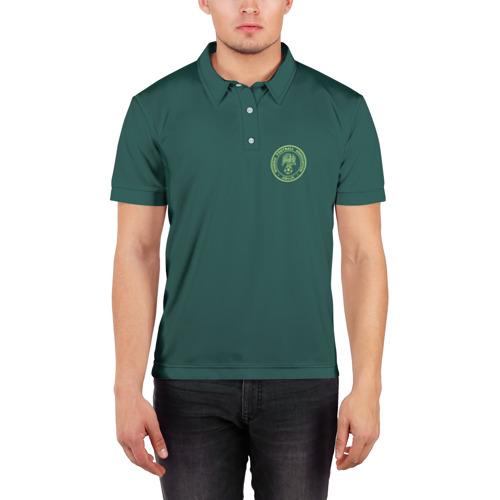 Мужская рубашка поло 3D  Фото 03, Гостевая форма Нигерии