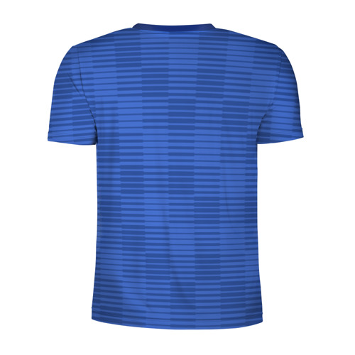 Мужская футболка 3D спортивная  Фото 02, Швеция гостевая форма ЧМ 2018