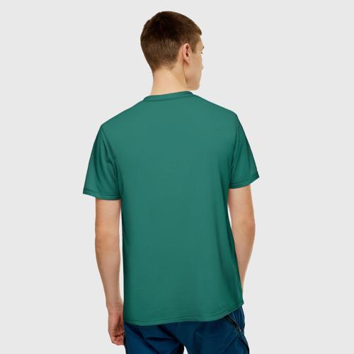 Мужская футболка 3D  Фото 02, Домашняя форма сборной Мексики