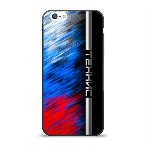 Чехол для Apple iPhone 6 силиконовый глянцевый  Фото 01, Теннис