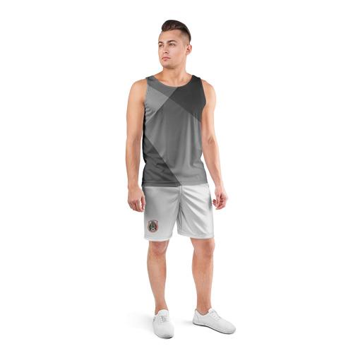 Мужские шорты 3D спортивные  Фото 04, Шорты сборной Мексики