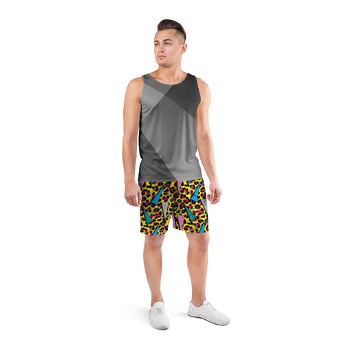 Мужские шорты 3D спортивные  Фото 04, 80 Leopard