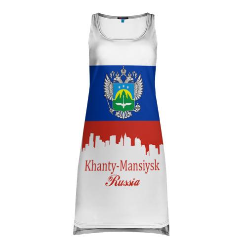 Платье-майка 3D KHANTY-MANSIYSK (Ханты-Мансийс