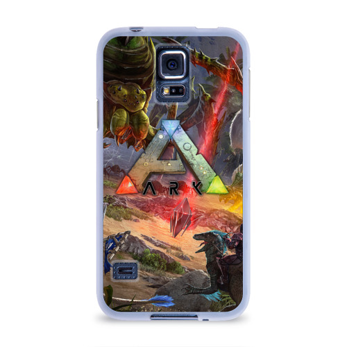 Чехол для Samsung Galaxy S5 силиконовый  Фото 01, Ark: Survival Evolved