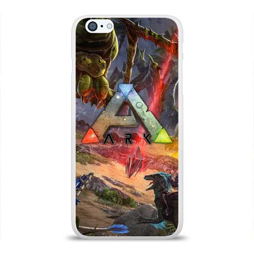 Чехол для Apple iPhone 6Plus/6SPlus силиконовый глянцевый  Фото 01, Ark: Survival Evolved
