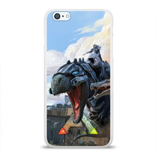 Чехол для Apple iPhone 6Plus/6SPlus силиконовый глянцевый  Фото 01, Ark Survival Evolved