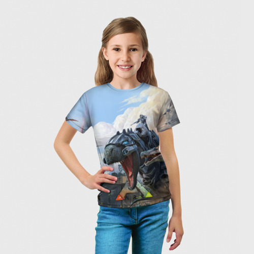 Детская футболка 3D  Фото 03, Ark Survival Evolved