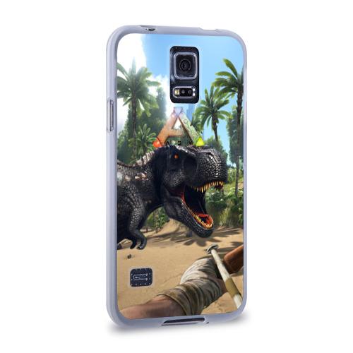 Чехол для Samsung Galaxy S5 силиконовый  Фото 02, Ark Survival Evolved