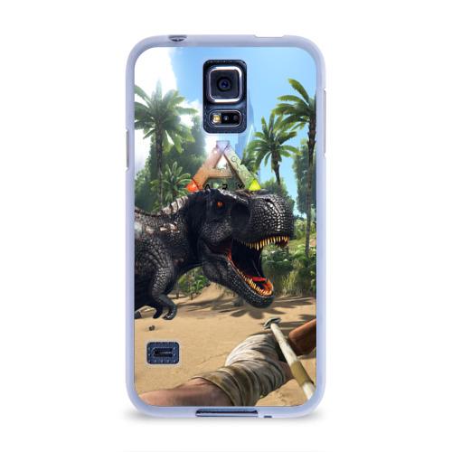 Чехол для Samsung Galaxy S5 силиконовый  Фото 01, Ark Survival Evolved
