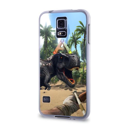Чехол для Samsung Galaxy S5 силиконовый  Фото 03, Ark Survival Evolved