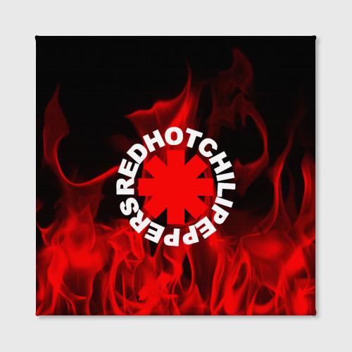 Холст квадратный  Фото 02, Red Hot Chili Peppers