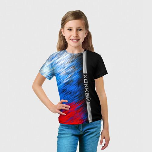 Детская футболка 3D Хоккей Фото 01