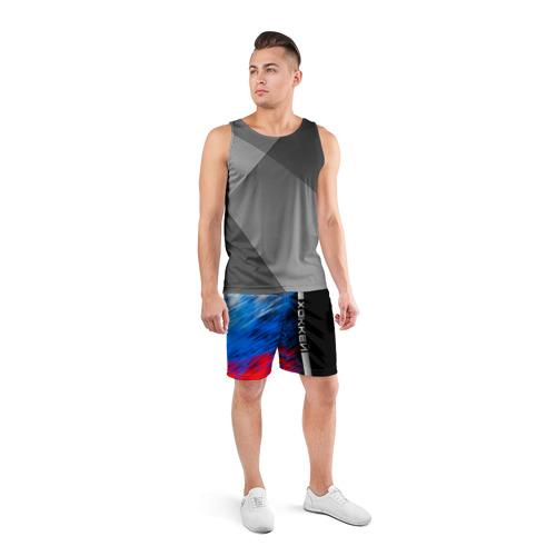 Мужские шорты 3D спортивные  Фото 04, Хоккей