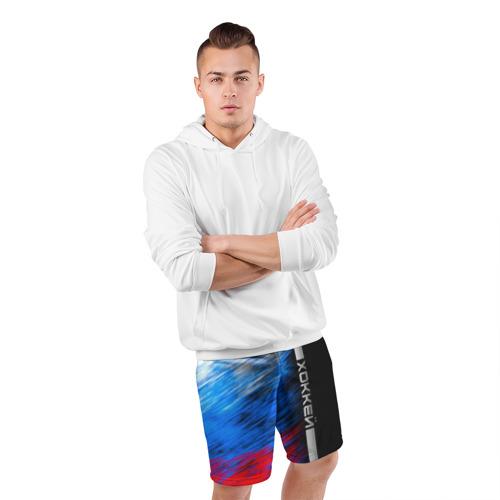 Мужские шорты 3D спортивные  Фото 05, Хоккей