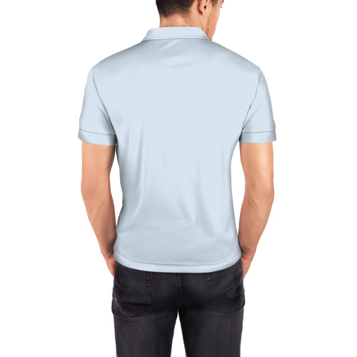 Мужская рубашка поло 3D  Фото 04, WOLF
