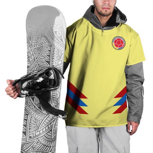Накидка на куртку 3D  Фото 01, Форма Колумбии