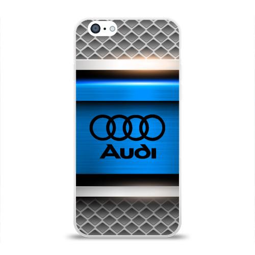Чехол для Apple iPhone 6 силиконовый глянцевый  Фото 01, AUDI SPORT
