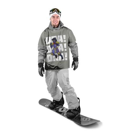 Накидка на куртку 3D  Фото 03, STAR PLATINUM