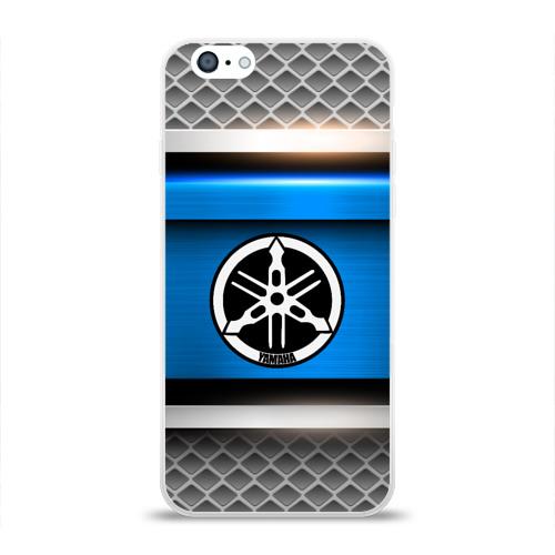 Чехол для Apple iPhone 6 силиконовый глянцевый  Фото 01, YAMAHA SPORT