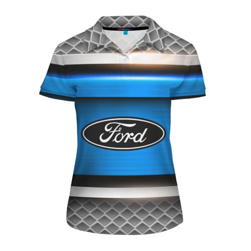 Женская рубашка поло 3D FORD SPORT Фото 01