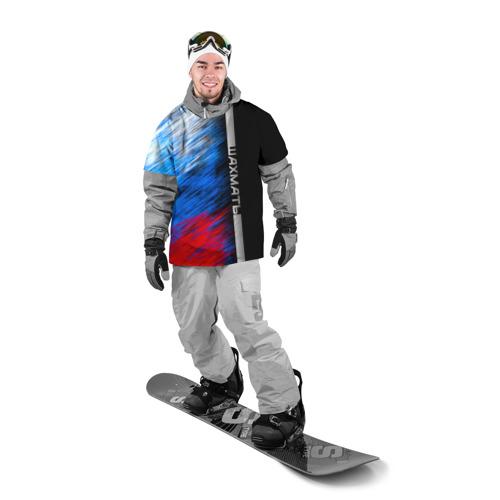 Накидка на куртку 3D  Фото 03, Шахматы