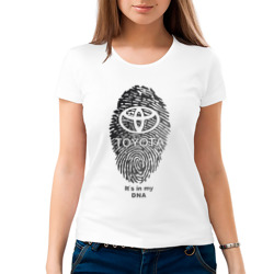 Toyota it's in my DNA