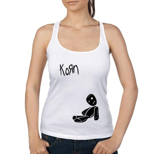 Женская майка борцовка  Фото 01, Korn